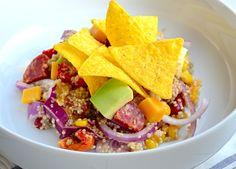 Makkelijke Maaltijd: Mexicaanse quinoa salade - Uit Paulines Keuken
