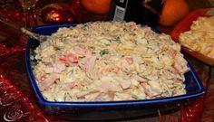 Tento salát, jehož recept už nemůže být jednoduší, může zaujmout čestné místo na jakékoliv slavnostní tabuli. Je prostě dokonalý! Zamiluje si ho prvním ochutnání! Můžete jej vyzkoušet a báječně si na něm pochutnat už třeba rovnou při novoročním obědě. Nebudete litovat. Ingredience -300 g vařeného, kuřecího masa – 250 g …