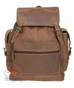 Buffalo Backpack från BrandbyNature.se, ursnygg ryggsäck som bara blir snyggare med åren!