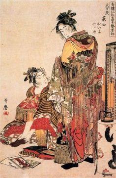 The widow - Kitagawa Utamaro