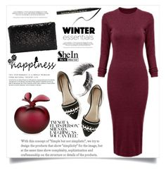 """""""Bez naslova #1522"""" by violet-peach ❤ liked on Polyvore featuring Too Faced Cosmetics, Lalique and Beauty Is Life"""