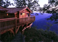 Primland Resort, The Blue Ridge Mountains, VA.  They have a Tree House!
