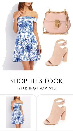 """Untitled #3"" by zeza-1 ❤ liked on Polyvore featuring Charlotte Russe, Kendall + Kylie and Chloé"