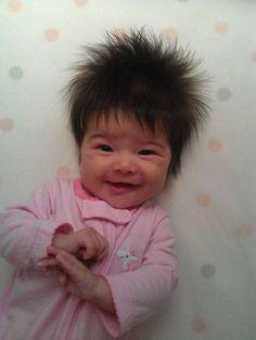 Baby Having A Bad Hair Day