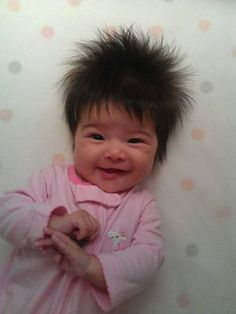 Baby Having A Bad Hair Day