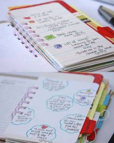 """I know this isnt TECHNICALLY positive words, but how AWESOME is it to have. """"Gratitude journal"""" to write doen POSITIVE memories, words, thoughts!     365 Things I Am Grateful For 2013 Gratitude Journal by iloveitall, $45.00"""