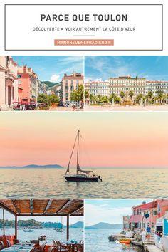 Parce que Toulon. Venez découvrir avec moi le charme de cette ville, souvent oubliée entre Marseille et Nice. #toulon #blog #blogger #blogueusedusud #frenchblogger #var
