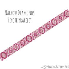 peyote bracelet patterns free   ... Peyote Bracelet Pattern, Digital PDF Pattern - Buy 4 get 1 FREE