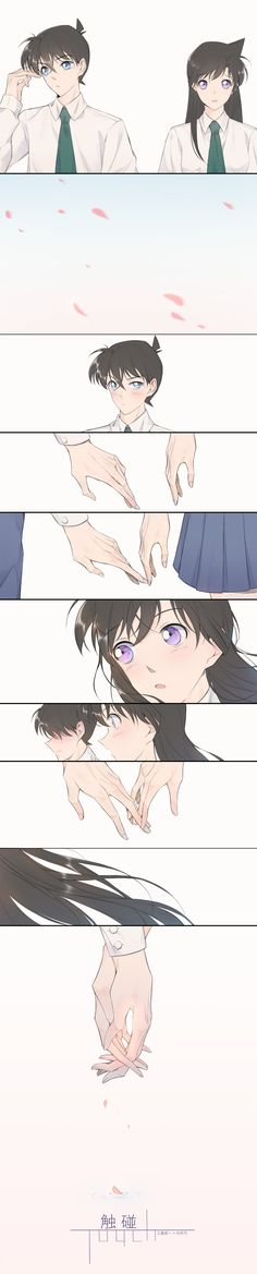 Ran And Shinichi, Kudo Shinichi, Detective Conan Ran, Detective Conan Wallpapers, Anime Girl Dress, Detektif Conan, Anime Group, Magic Kaito, Disney And More
