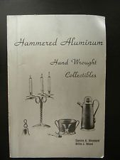 Book I Hammered Aluminum Hand Wrought Collectibles Dannie A Woodard Billie Wood 1983