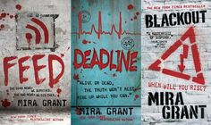 The Newsflesh Trilogy (Feed, Deadline, and Blackout). Love her writing style and dark sense of humor