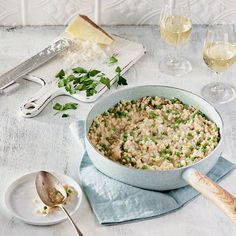 Risotto Cremeux, Valeur Nutritive, Grains, Vegetarian, Cooking, Ethnic Recipes, Foodies, Al Dente, Vegetarian Food