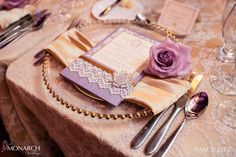Gorgeous Gold, Lovely Lace and Lavender Hotel Del Wedding –