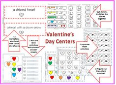 Over 23 pages of Valentine's Day activities!