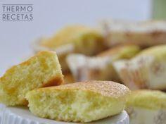 Bollitos de limón con almíbar en su interior