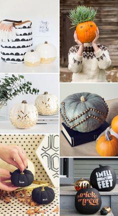 12 No-Carve Pumpkin Ideas @LovelyIndeed
