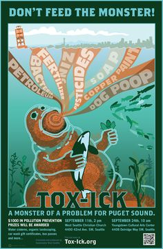 Tox-ick: Stormwater Education Campaign by Riverbed Design