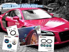 EPMAN Neo Chrome JDM Aluminum Quick Release Fasteners Kit Fit For Bumper Trun EP-DQ002-7C
