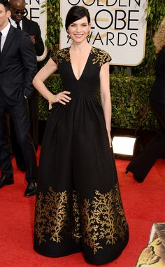 Julianna Margulies in Andrew Gn from Best Dressed at the 2014 Golden Globe Awards | E! Online