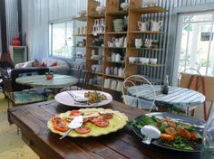 Midland meander in kzn, south africa, cafe bloom is blooming great Decor, White Oak, House Styles, House Design, Outdoor Decor, Residential Interior, Residential Interior Design, Home Decor, Chicago Design