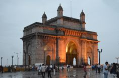 Bombay (Gateway of India) - I was so young when I went there last it was actually called Bombay, not Mumbai.