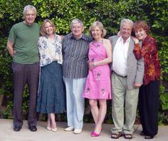 Dark Shadows Original Cast Reunion. David Selby, Lara Parker, Jonathan Frid, Kathryn Leigh Scott, John Karlen, and Marie Wallace.