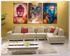 living #room #Art #Wall #Paintings