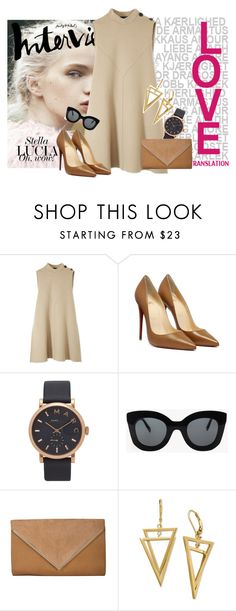 """Ready To Go!"" by agnes-adellina on Polyvore featuring Derek Lam, Marc by Marc Jacobs and CÉLINE"