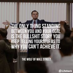 Leonardo DiCaprio #The Wolf Of Wall Street