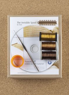 How to crochet wire bracelet , A unique jewelry making kit in Yoola's wire crochet invisible spool knitting technique. with the kit you will learn how to How to crochet wire bracelet, video tutorial , supply and tools Bracelet Fil, Spool Knitting, Jewelry Making Kits, Jewellery Making, Diy Jewellery, Fashion Jewelry, Wire Crochet, Crochet Wire Jewelry, Crochet Hook Sizes