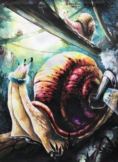 [발상과표현] 주제- 달팽이, 스피드 브레인스톰 안산입시미술학원 www.facebook.com/ansanbrainstorm/ blog.naver.com/yjkimlee7374
