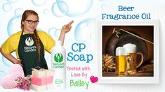 Soap Testing Beer Fragrance Oil- Natures Garden #meltandpoursoapsupplies #beersoap #makingsoapsupplies