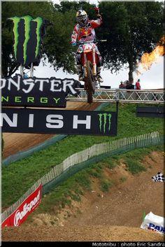 Motocross France 2012 Saint Jean d'Angely : Jeffrey Herlings .
