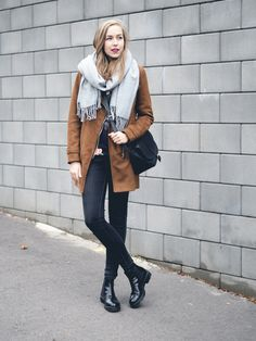 A Cup Of Style: what i wore Pretty Outfits, Fall Outfits, Fashion Outfits, Fashion Trends, Women's Fashion, Autumn Winter Fashion, Winter Style, Playing Dress Up, What I Wore