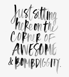 HFC Daily Affirmation - Today I will be awesome!  www.hungryforchange.tv Image from Pinterest