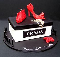 prada+cake | juicy couture cake grandma born to sop theme character cake