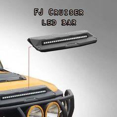 Details about Toyota FJ Cruiser Hood Scoop Led Bar - Today Pin Fj Cruiser Accessories, Truck Accessories, Fj Cruiser Mods, Land Cruiser, Fj Cruiser Parts, Ford Gt, Audi Tt, Accesorios Fj Cruiser, Fj Cruiser Interior