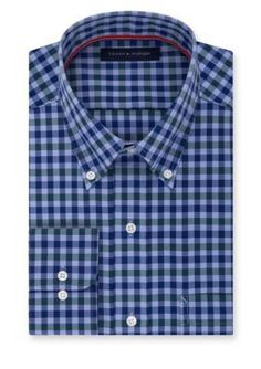 Tommy Hilfiger  Non-Iron Soft Touch  ular Fit Dress Shirt