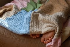 homemade cashmere-sweater-blanket by friend-to-friend. An awesome idea to use  unworn but loved sweaters