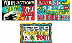 Character Education Posters 3 Pack