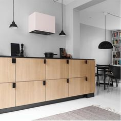 reformcph: This kitchen is designed by the world famous architectural firm; BIG - Bjarke Ingels Group.