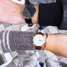 get 15% off when you use my code CAMILLE_DW on www.danielwellington.com || his and hers watches
