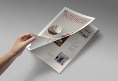 Magazine/Editorial Template 07 by Brandson on Creative Market