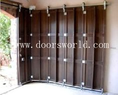 Would this keep bugs out better than a typical roll-up garage door where they get it at the top? garage door design ideas on Car Garage Doors With Fancy Ideas Designs Ideas And Photos Of House Sliding Garage Doors, Best Garage Doors, Unique Garage Doors, Garage Door Sizes, Garage Gate, Carriage Garage Doors, Diy Garage Door, Glass Garage Door, Sliding Gate