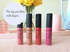 { NYX Softe Matte Lip Cream } | Julia Lindberg Lip Cream, Matte Lips, Nyx, Lipstick, Blog, Beauty, Lipsticks, Blogging, Beauty Illustration