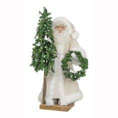 Ditz Designs Crystal Christmas Table Top Santa