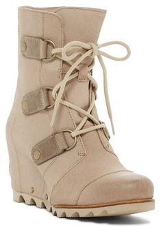 6af3aab7b38 Sorel Joan Of Arctic Waterproof Mid Platform Wedge Boot - Perfect for every  day wear