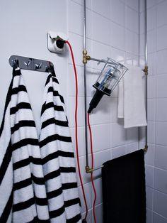 pyyheteline, diy, kylpyhuone, tanko - White Trash Disease | Lily.fi