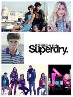 Superdry collage.♡