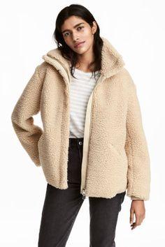 Pile Jacket - Beige - Ladies | H&M CA